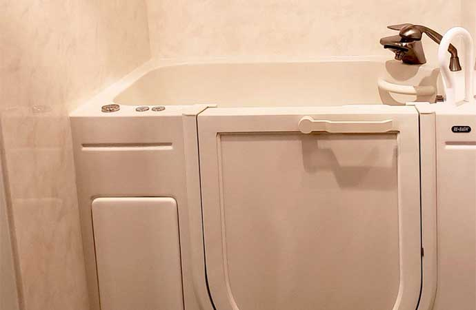 Walk-in tubs provide safety and convenience