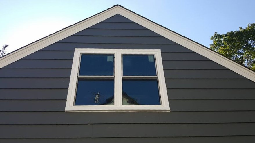AFTER - New energy-efficient beautiful Twin Double Hung Windows