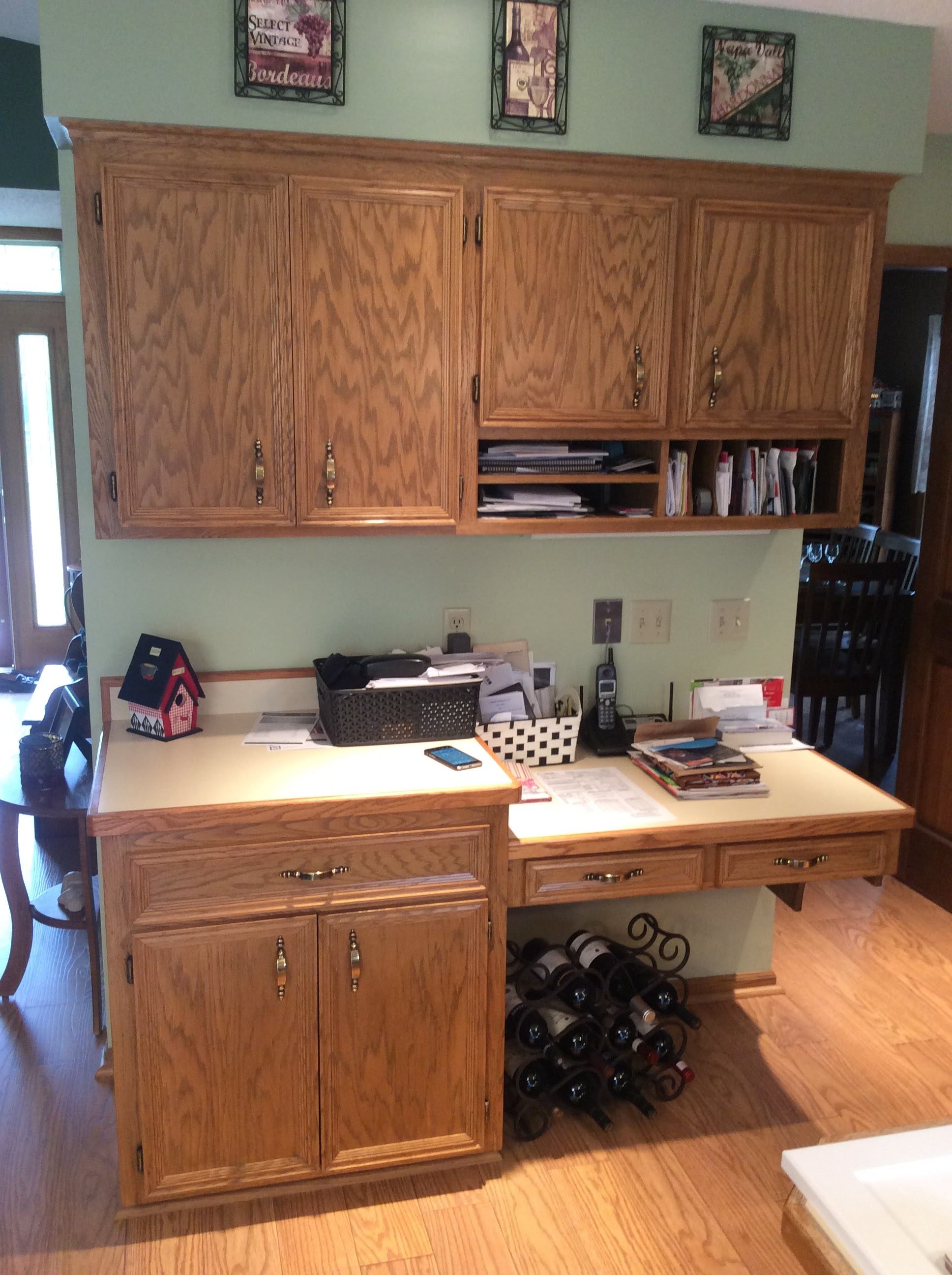 Job completed for kitchen cabinet reface in eagan in eagan mn for Kitchen cabinets jobs