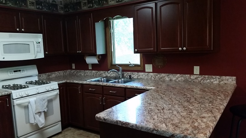 Job Completed For Kitchen Cabinets And Counter Tops Remodeled In Champlin Champlin Mn