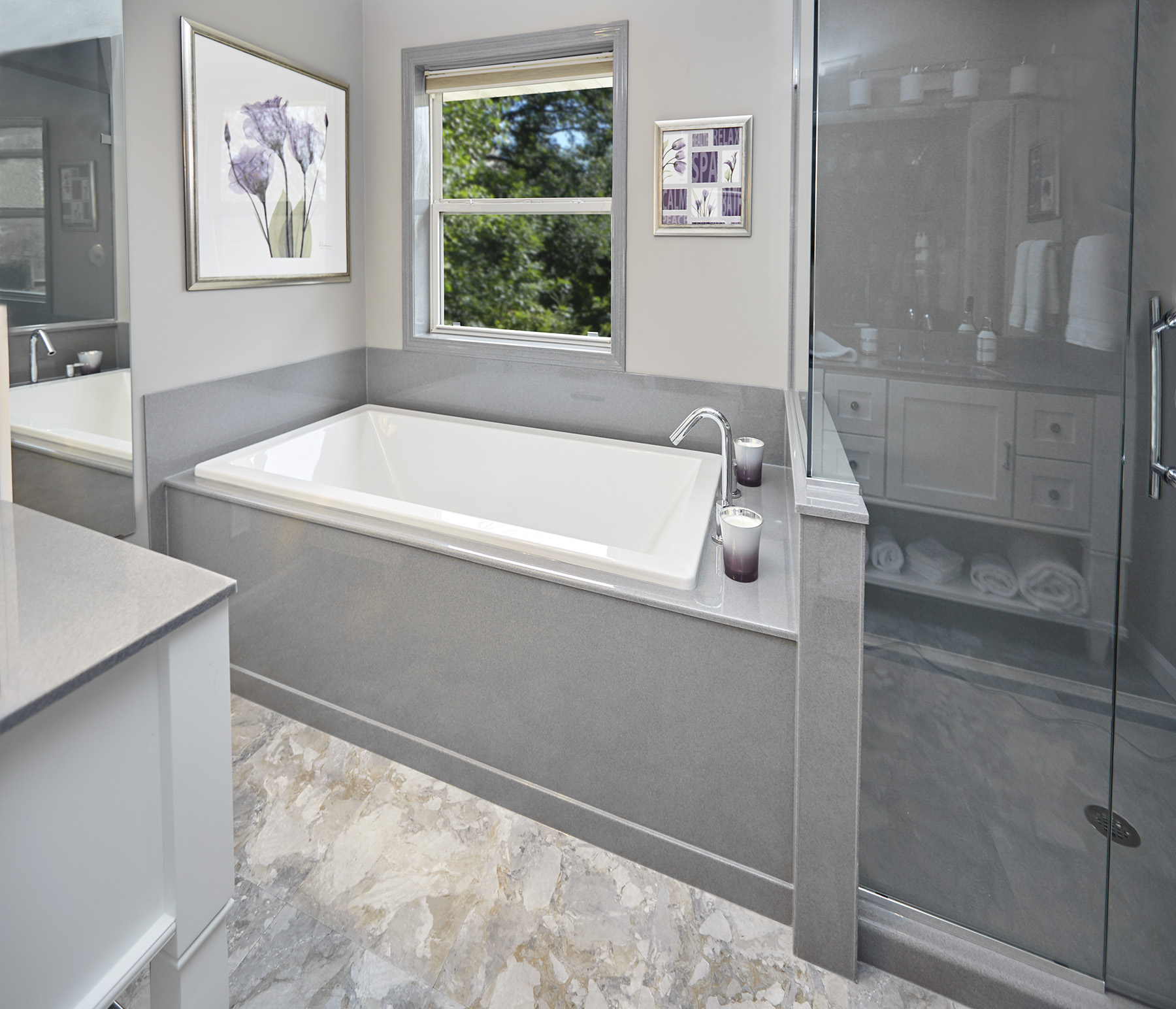 Job Completed For Master Bathroom Renovation In Brooklyn