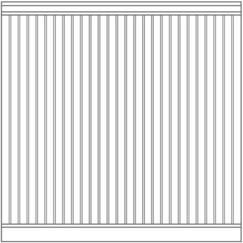 Cape Cod Wall Surround Pattern