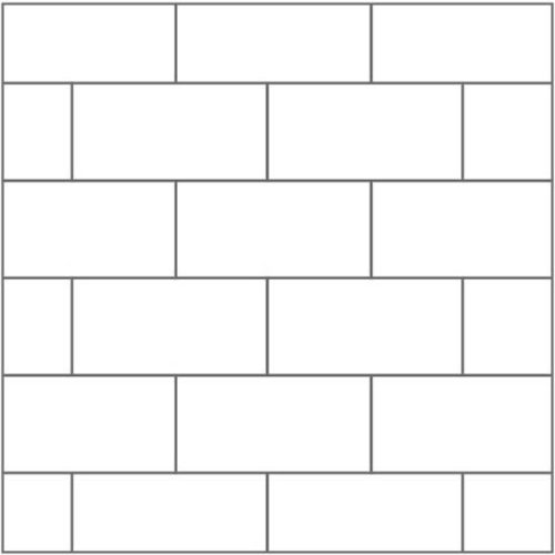 Tile Wall Surround Pattern