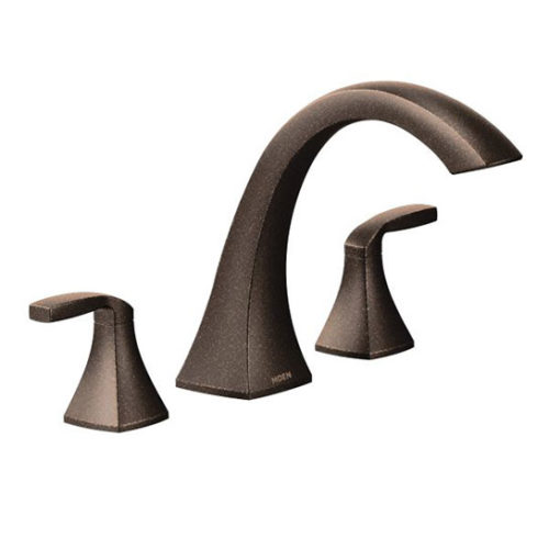 Voss Oil RUbbed Bronze Two Handled Faucet