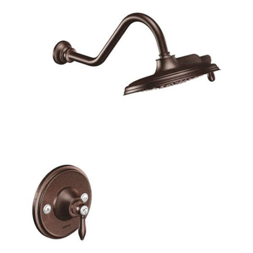 Weymouth Oil Rubbed Bronze Posi Temp Showerhead and Handle